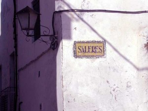 Entrance to Saleres