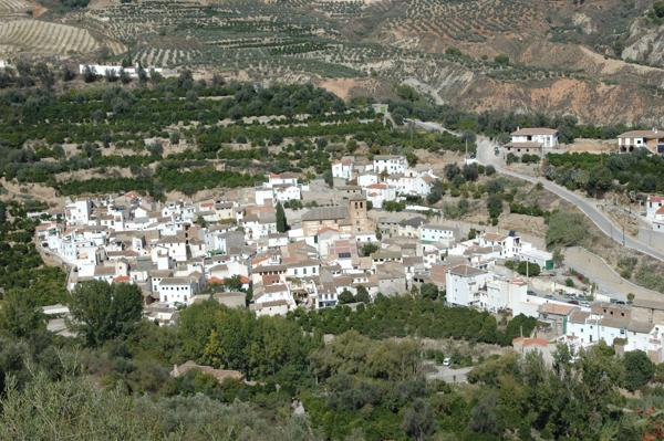 The village of Saleres